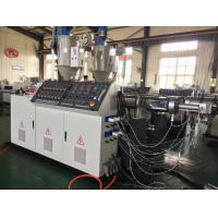 Wholesale Stable HDPE Extruding Machine , Energy Saving PVC Extruder Machine from china suppliers