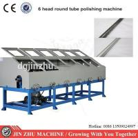 Wholesale 6 Heads Automatic Buffing Machine , Stainless Steel Pipe Polishing Machine from china suppliers
