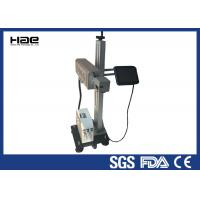 Wholesale Online Flying Co2 Laser Engraver , Laser Coding Machine For Wood / Glass from china suppliers