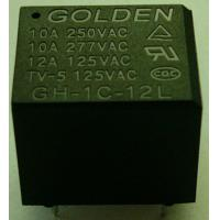 China 12A 12 Volt / 24 Volt General Purpose Relay Plastic Sealed GH JQC-3FF on sale
