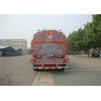 Quality Three Axle Chemical Tanker Trailer Chemical Transport Tanks 38000l Big Capacity for sale