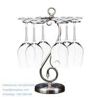 China simple classic table wine glass holder on sale