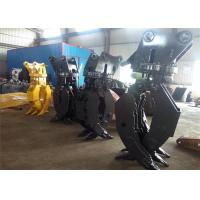 Buy cheap High Strength Hydraulic Wood Rotating Grapple For Excavator Volvo EC290 from Wholesalers