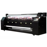 Wholesale 3.2m subimation digital continuous printing machine Double Print heads from china suppliers