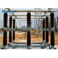 Outdoor Disconnect Switch Substation Double Side Break Hv Disconnect Switch 145kV
