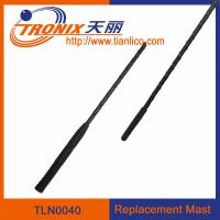 Wholesale 1 section mast car antenna/ car replacement mast antenna/ car antenna accessories TLN0040 from china suppliers