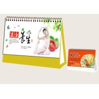 Wholesale Custom Desk Calendar Printing Services Matt Paper Material 3mm Board Frame from china suppliers