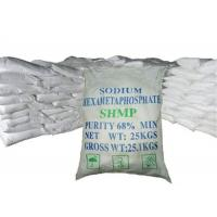 Wholesale Tech Grade SHMP Sodium Hexametaphosphate Food Grade For Water Treatment from china suppliers