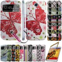 China Slim Smart pu Samsung Cell Phone Cases For Galaxy , S View Flip Battery Cover on sale
