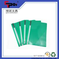 Wholesale PP Stationery Supplier A4 Report Cover Loose Paper Customized Transparent File Folder from china suppliers