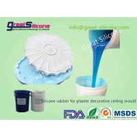 China Platinum cure Silicone Rubber RTV2 for Gypsum/Plaster Ceiling Domes on sale