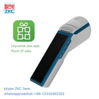 Wholesale ZKC5501 billing printer point of sale pos terminal with free software from china suppliers
