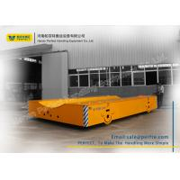 Quality 50 Ton Die Transfer Cart Trackless Material Transportation Polyurethane Coated Wheel for sale