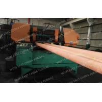 Wholesale 100mm Red Copper Pipes Continuous Casting Plant , Horizontal Casting Machine from china suppliers
