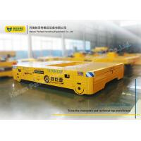 Wholesale Large table conductor cable power Pallet Transfer Carts rail transfer trolley car from china suppliers