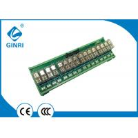 China 5V 12V 24V 16 Channel I O Relay Module With Optocoupler Isolations With IDC Connector High Low Trigger on sale