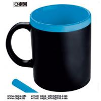 Wholesale Certification SGS/CE Ceramic Chalk Mug with handle Leaving a message.by chalk cup china write news ceramic mug from china suppliers