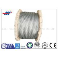 Wholesale High Strength Galvanized Steel Wire Rope No Oil For Aircraft Cable 7x19 from china suppliers