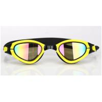 Wholesale Interchangeable Nose Piece Adult Swim Goggles With Soft / Durable Silicone Gasket from china suppliers
