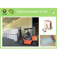 China Mixed Pulp Coated Blister Board Paper Back For Product Packaging Strong Stiffness on sale
