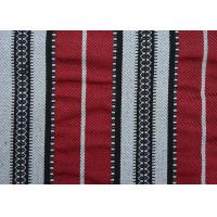 Wholesale Home Textile Sadu Black And White Striped Upholstery Fabric 270GSM from china suppliers