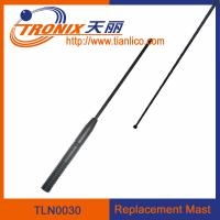 Wholesale 1 section mast car antenna/ car replacement mast antenna/ car antenna accessories TLN0030 from china suppliers