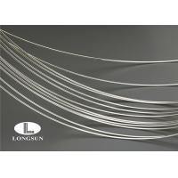 Buy cheap ISO9001 Silver Alloy Wire High Electrical Conductivity For Electrical Contacts from Wholesalers