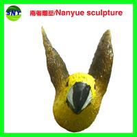 Wholesale customize size animal fiberglass statue large  yellow bird model as decoration statue in garden /square / shop/ mall from china suppliers