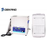 Chain Parts Ultrasonic Cleaning Bath 40KHz 14L Power Adjustable For Musical Instruments