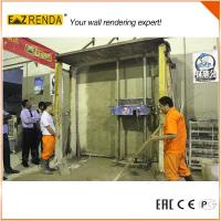 Buy cheap Single Phase Cement Plastering Machine ez renda automatic rendering machine from wholesalers