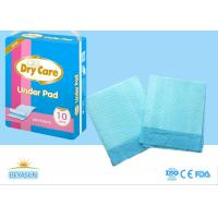 China Sanitary Disposable Bed Pads Water Resistant For Hospital , Non - Stimulated on sale