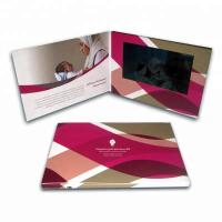 China lcd video brochure visiting card for weddings, happy birthdays and general greetings on sale