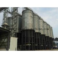 Wholesale Hot Galvanized Grain Storage Silo White For Grain Storage Containers from china suppliers