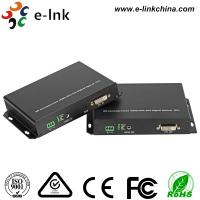 Wholesale KVM DVI Video To Fiber Converter 1.0 Protocol 1Ch Analog Audio Support KVM, SFP Port 3G from china suppliers