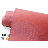"""Wholesale Red Silicone Coated Fiberglass Fabric Engine Thermal Insulation 1mm 30oz 39"""" from china suppliers"""