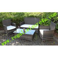China RLF-001HS-1 outdoor patio wicker synthetic garden rattan sofa set furniture on sale