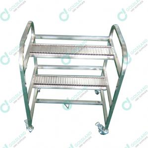 Wholesale Stainless Steel FUJI XP Storage SMT Feeder Carts from china suppliers