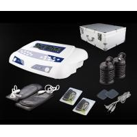 Wholesale Home Use Dual Detox Foot Spa with Massage Belts and Pads Carrying Aluminium Case 20V 6A from china suppliers