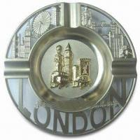 Wholesale Promotional London Ashtray, Made of Alloy, Available in Various Sizes from china suppliers