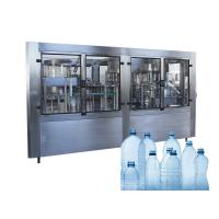 China Pure Spring Water Barrel Filling Machine Washing Capping Sealing Labeling Line on sale