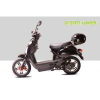 Wholesale Black 25KM - 32KM / H Electric Gear Motor Scooters 500W 16 X 3.0 Disc Brake with CE, RoHS from china suppliers