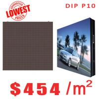 Buy cheap DIP P10 outdoor Lowest Price LED Display from wholesalers
