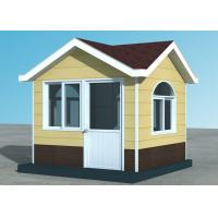 90mm Rock Wool Light Steel Frame Construction Homes Prefab