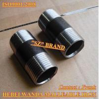 Buy cheap Black Seamless steel pipe Nipples SCH40,SCH80 from wholesalers