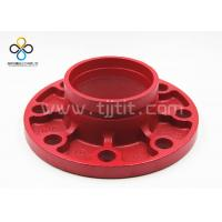 China CCC FM UL Good quality Groove flange Ductile iron grooved fittings on sale