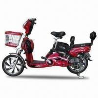 Wholesale Lead-acid Electric Scooter in Red, with 30 to 50kph Maximum Speed, Measures 1,730 x 640 x 1,080mm from china suppliers