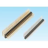 Wholesale Dual / Single Row DIP 90° Type Pin Header Connector For Consumer Electronic from china suppliers