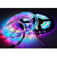 China Non Waterproof 5m Led Multi Color Changing Rope Lights 16.4ft 150 WS2812B White PCB on sale