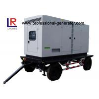 Wholesale Low Noise 8kw to 500kw Diesel Mobile Power Generator with AC 3 Phase Digital Control Panel from china suppliers