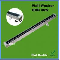 Wholesale Bridgelux chip self control DMX512 control RGB 1m long 36w ip65 led wall washer from china suppliers
